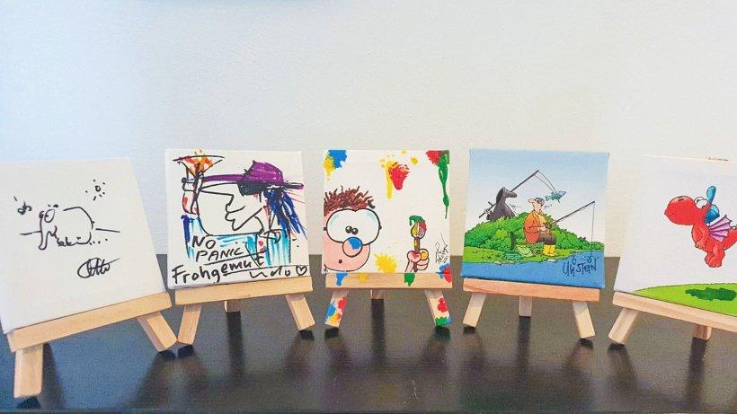 Schöppenstedter versteigert Mini-Kunstwerk für Hospiz