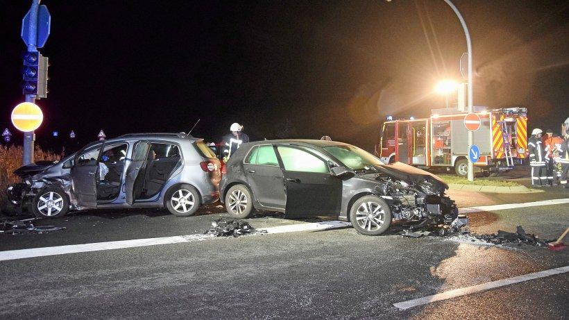 Vorfahrt missachtet – fünf Verletzte nach Unfall in Cremlingen - Wolfenbütteler Zeitung