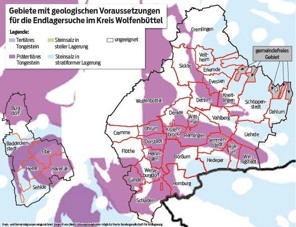 Endlagersuche Kreis Wolfenbüttel